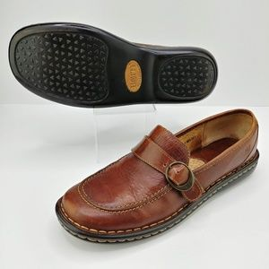 Born | Leather Buckle Loafers